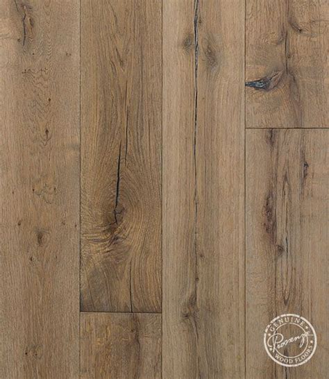 Provenza Flooring by Provenza Pompeii Floor Detail Image Sabatini Oak Rustic Rugged Cracked Stained