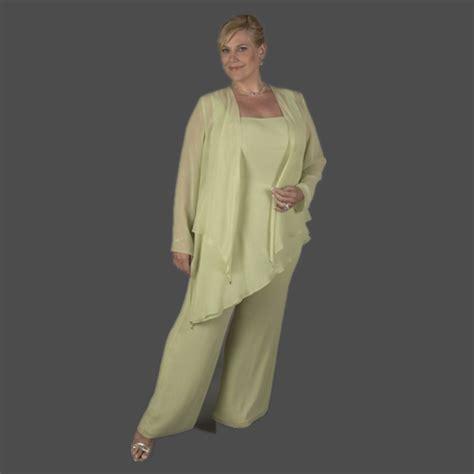 plus size dressy pant suits for weddings popular chiffon pants suit wedding buy cheap chiffon pants