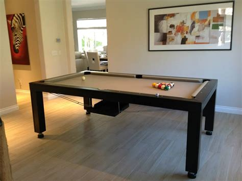 dining room table pool table convertible hollywood pool tables dining room pool