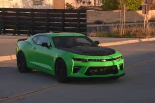 Chevrolet Camero Ss 2017 Chevrolet Camaro Ss 1le One Week Review Automobile