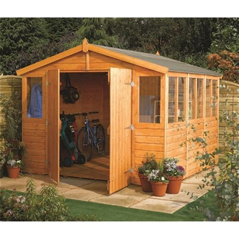 12 X 9 Shed Price by 15 X 9 Deluxe Tongue And Groove Workshop 12mm Tongue And