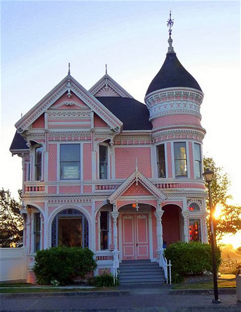 victorian queen anne the pink lady queen anne style located on 2nd street
