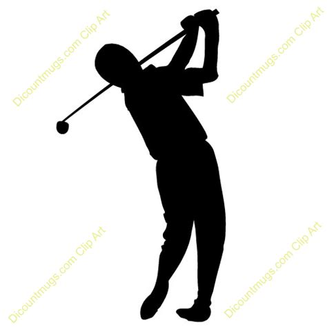 Funny Coffee Mugs by Clipart 10672 Golfer Golfer Mugs T Shirts Picture
