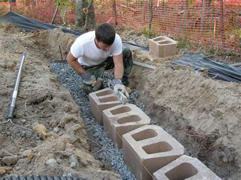 How To Build A Garden Wall Residential Retaining Walls