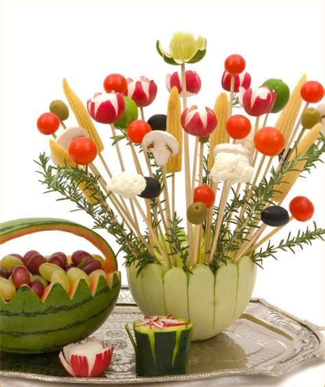 edible centerpieces edible centerpiece the veggie bouquet hostess with the