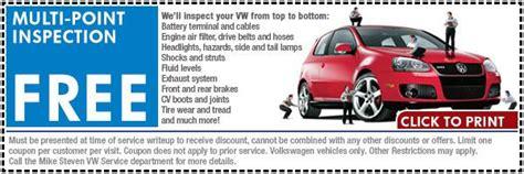 volkswagen multi point inspection service special wichita ks