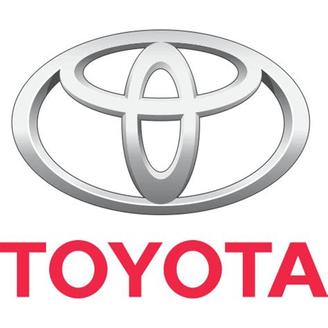 Toyota Sticker Toyota Logo Iron On Sticker Version 2 Toyota 2 Cad 2