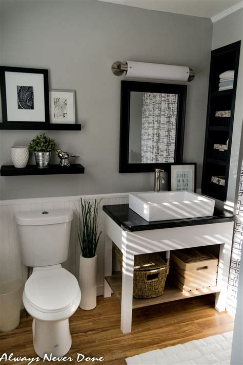 gray bathroom decor ideas best 25 black and white bathroom ideas ideas on pinterest