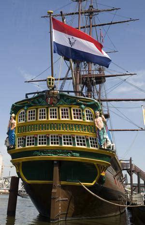 scheepvaartmuseum schip elisabeth spits in voc tijd zouden muitende studenten