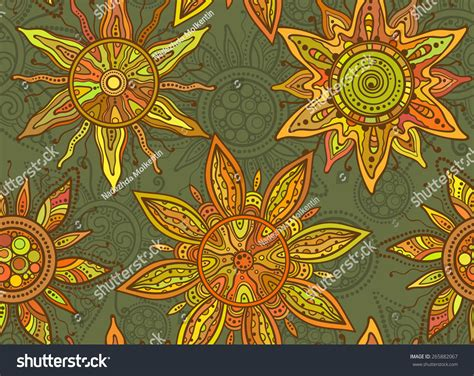 pattern and ornament in the art of india seamless vector pattern traditional indian ornament stock