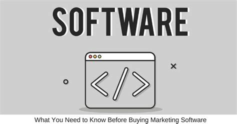 what i need to know before buying a house what you need to know before buying marketing software