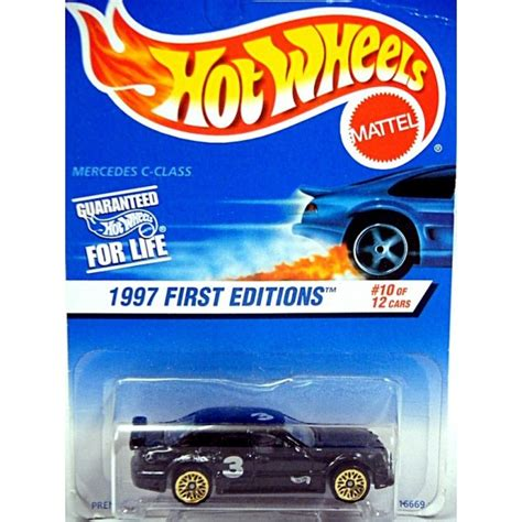 Hotwheels Mercedes C Class wheels 1997 editions mercedes c class amg sedan global diecast direct