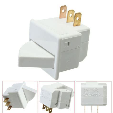 Door Light Switch by Spdt Ac3 Refrigerator Door Light Switch White 250v 0 5a