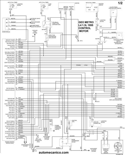 Diagram 1995 Geo Prizm Fuse Box Diagram Full Version Hd