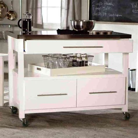 original cottage mobile kitchen island cart 414405