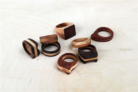 diy wood ring simple wooden rings the merrythought
