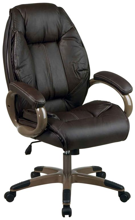 dark brown leather desk chair classic style interior ideas with executive office chair