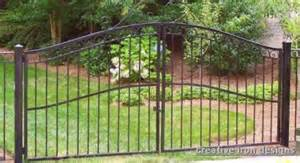 Pictures of Wrought Iron Driveway Gate Designs