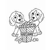 Artikel Terkait Puppies Coloring Pages