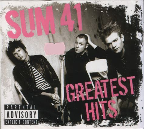 sum 41 greatest hits cd at discogs