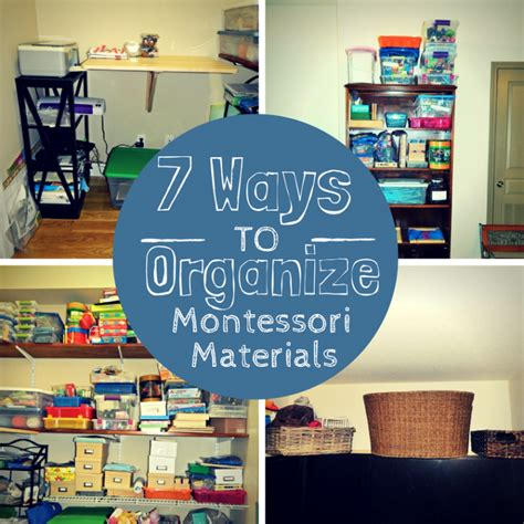 7 Ways To Find A Great Stylist by 7 Ways To Organize Montessori Materials