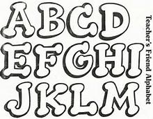 Moldes De Letras Para Carteles