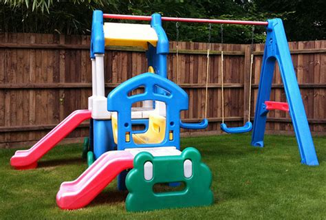 little tikes swing installation little tikes clubhouse swing set flickr photo sharing