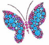 Butterfly Glitter Graphics