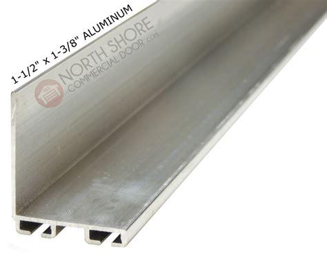 garage door 1 5 inch by 1 375 inch aluminum bottom seal