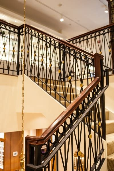 Banister Iron Works by Ornamental Railings Stairs 187 Ramos Iron Work