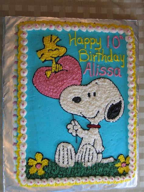 snoopy  woodstock birthday sheet cake snoopy cake cake birthday sheet cakes