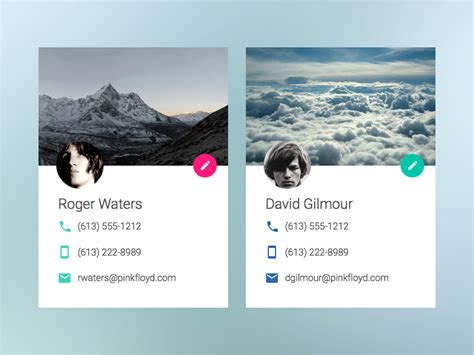 materials for card material design id cards uplabs