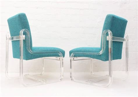 chelsea fabric dining chair aqua united furniture set of four acrylic dining chairs by vivid for sale at 1stdibs