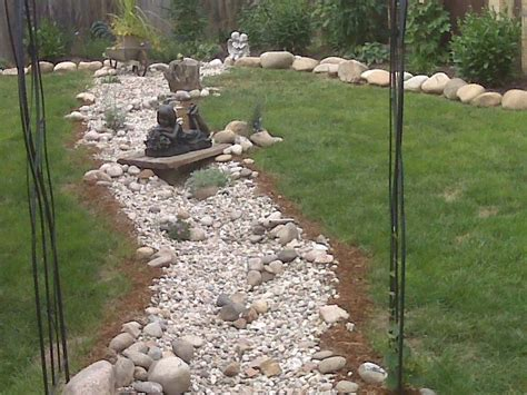 drainage ditch in backyard drainage dilemma yard ideas blog yardshare com