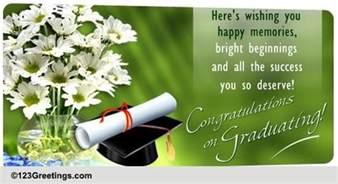 graduation congratulations cards free graduation congratulations ecards 123 greetings