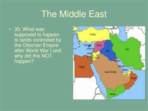 what happened to the ottoman empire after war 1 ppt chapter 13 the interwar years 1919 1939 powerpoint