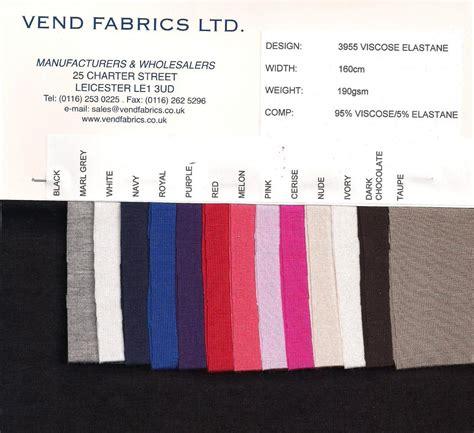 printable fabric swatch cards swatch card 3955 viscose elastane single jersey