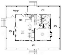 5 Bedroom One Story House Plans 653784 1 5 Story 3 Bedroom 2 5 Bath Country Farmhouse Style House Plan House Plans Floor