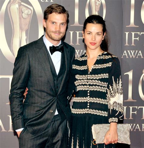 jamie dornan amelia warner and wife view image jamie dornan pulls out of the fifty shades of grey sequel