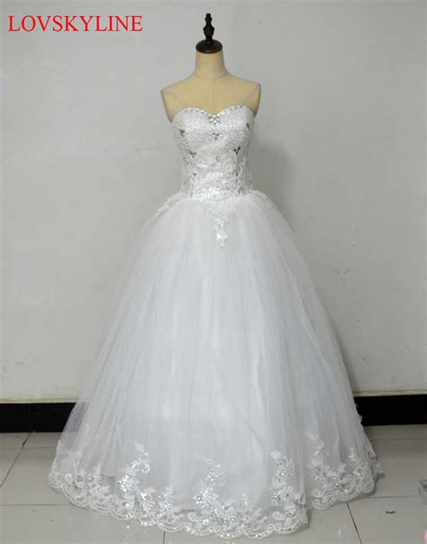 Where To Get Wedding Dresses by Get Cheap Rhinestone Gown Wedding Dress