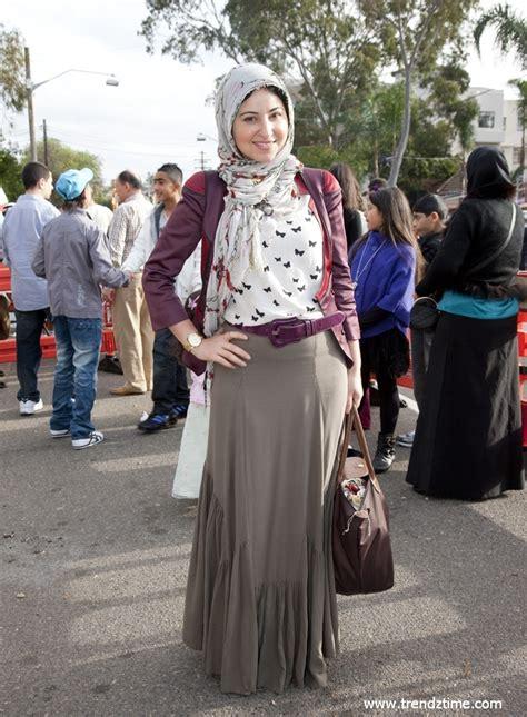Stylish Muslim easy casual style muslimah style