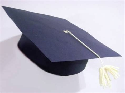 How To Make A Paper Graduation Cap - how to make a paper graduation cap with your