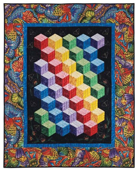 quilt pattern tumbling blocks abc 3 d tumbling blocks and more quilt with marci baker