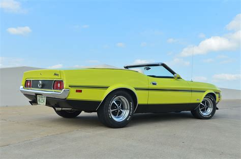 1972 ford mustang convertible muscle classic wallpaper
