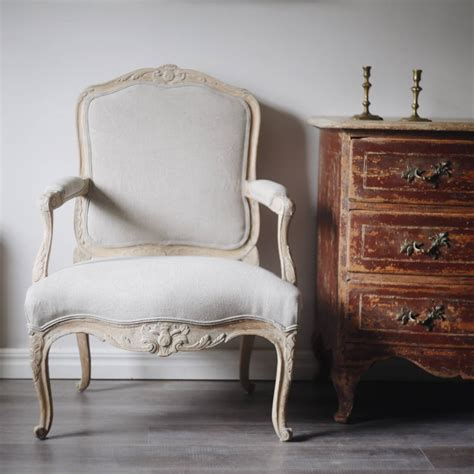 Rococo Armchair by Swedish 18th Century Rococo Armchair For Sale At 1stdibs