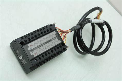 Mitsubishi Qx81 mitsubishi qx81 digital input module w terminal board a6tbx36 e late 2013 ebay