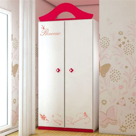 Armoire Princesse by Armoire Princesse Pour Chambre Fille Design Capella