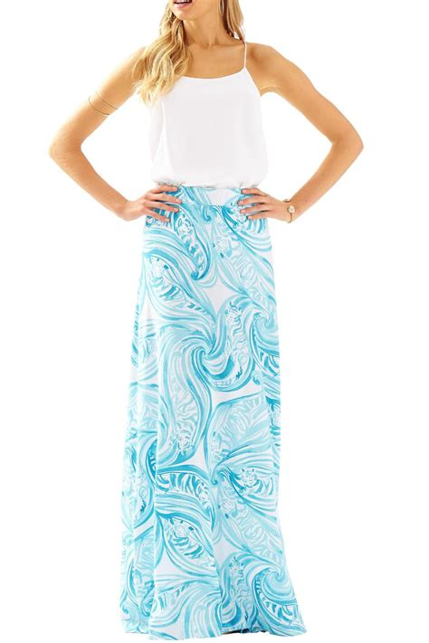 lilly pulitzer nola maxi skirt from sandestin golf and