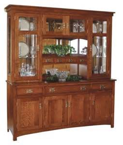 Dining Room China Hutch Amish Dining Room Furniture Mission Hutch Buffet Server