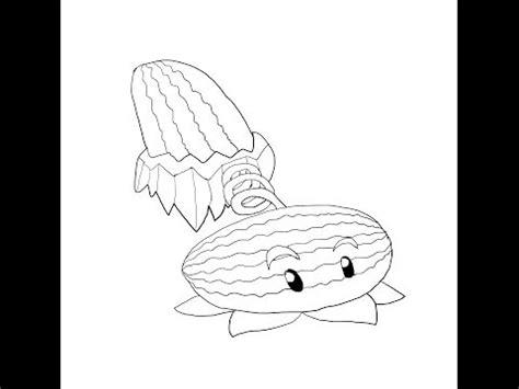winter melon coloring page plants vs zombies winter melon coloring page coloring pages